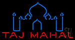 Taj Mahal Logo Neon Sign