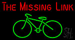 The Missing Link Cycle Neon Sign