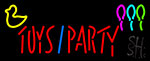 Toy And Party Neon Sign