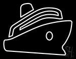 Ship Cruises Neon Sign