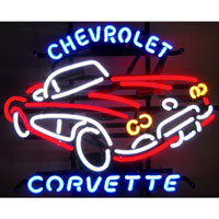 Chevrolet Corvette C1 Neon Sign