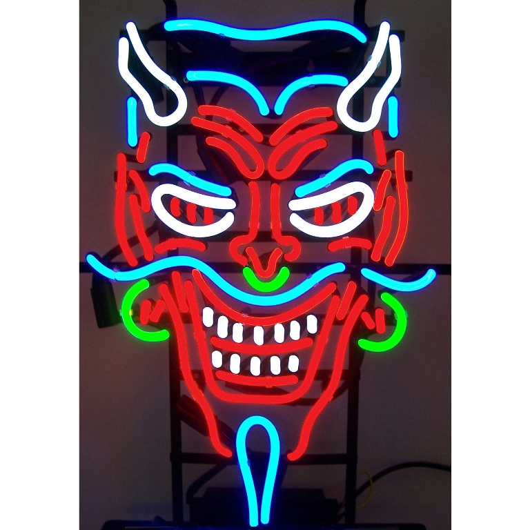 Devil Neon Sign