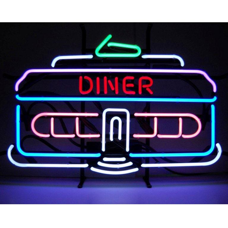 Diner Car Neon Sign