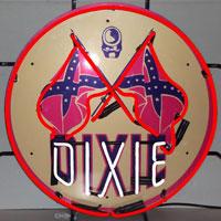 Dixie Gasoline Neon Sign