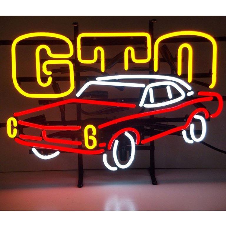 Gm Gto Automobile Neon Sign