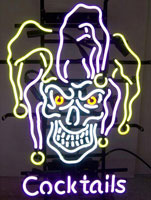 Jester Cocktails Neon Sign