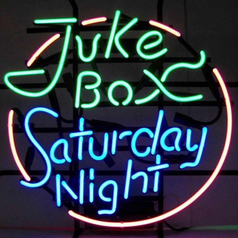 Jukebox Saturday Night Neon Sign