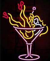 Martini Girl Neon Sign