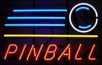 Pinball Shot Neon Sign
