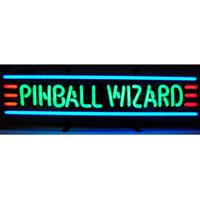 Pinball Wizard Neon Sign