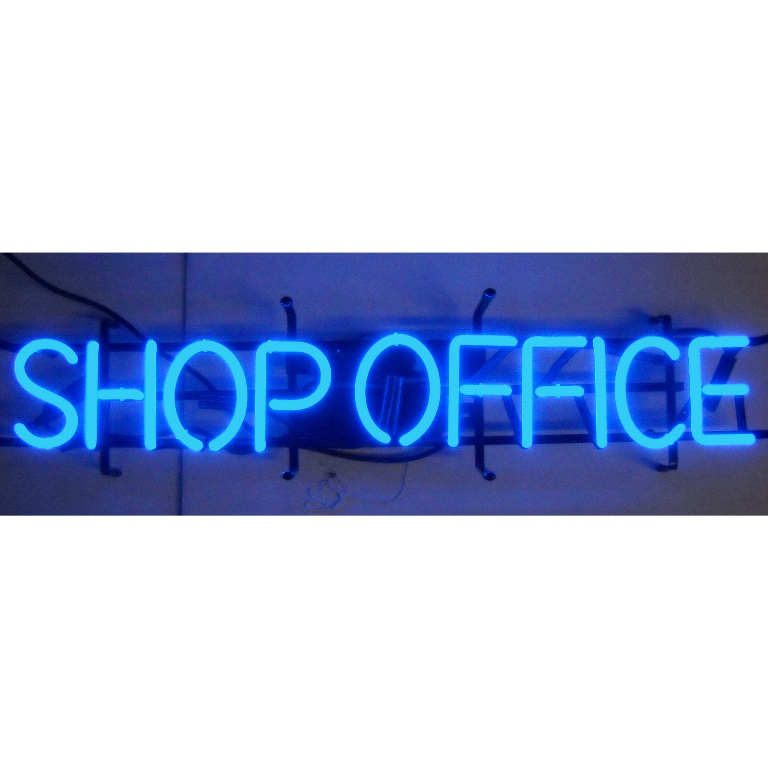 Shop Office Neon Sign