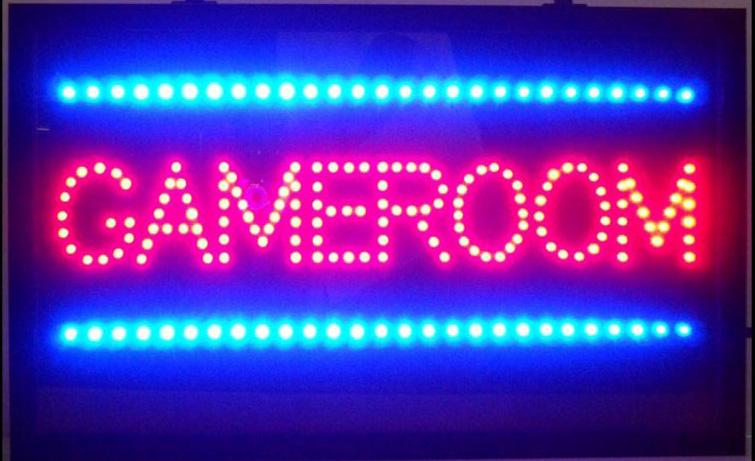 Gameroom Led Sign