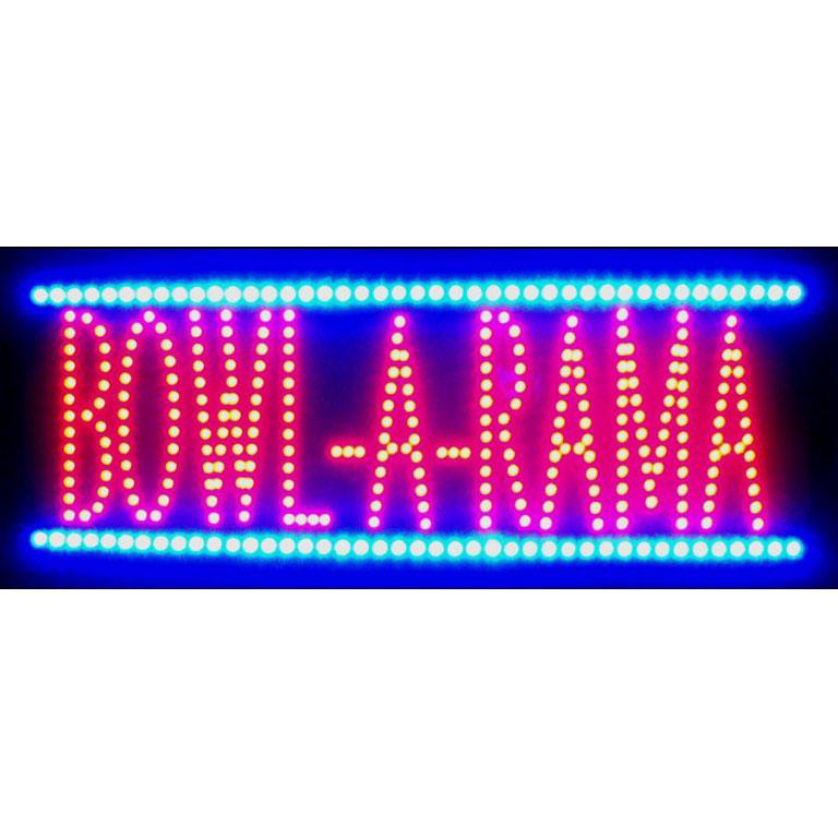 Bowl-a-rama Led Sign