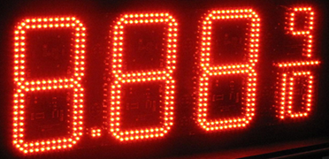 "LED Gas Price Sign 10"" Digit"