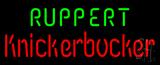 Ruppert Knickerbocker Beer Neon Sign