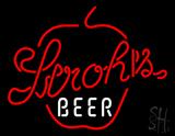 Strohs Apple Beer Neon Sign