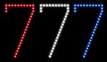 Custom 777 Led Sign 1