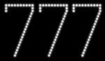 Custom 777 Led Sign 3