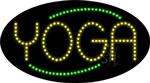 Yoga Animated LED Sign