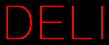 Custom Holly Deli Neon Sign 6