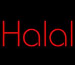 Custom Halal Neon Sign 3