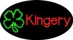 Custom Kingery Clover Led Sign 1