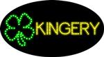 Custom Kingery Clover Led Sign 2