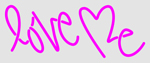 Custom Love Me Neon Sign 2
