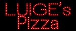 Custom Luiges Pizza Led Sign 1