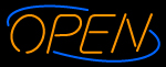 Custom Open With Border Neon Sign 2