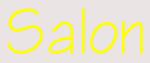 Custom Salon Neon Sign 4
