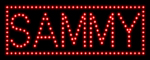 Custom Sammy Led Sign 2