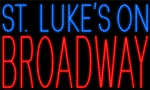 Custom St Lukes On Broadway Led Sign 3