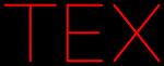 Custom Tex Neon Sign 3