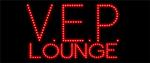 Custom V E P Lounge Led Sign 1
