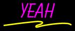Custom Yeah Neon Sign 1