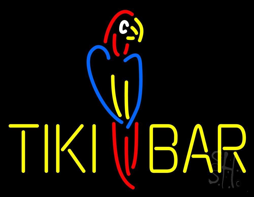 Tiki Bar Parrot Neon Sign|Tiki Bar Neon Signs- Every Thing