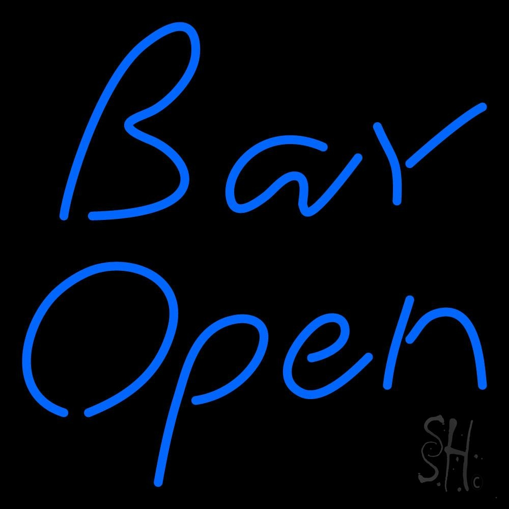 Stylish Bar Open Neon Sign|Bar Open Neon Signs- Every