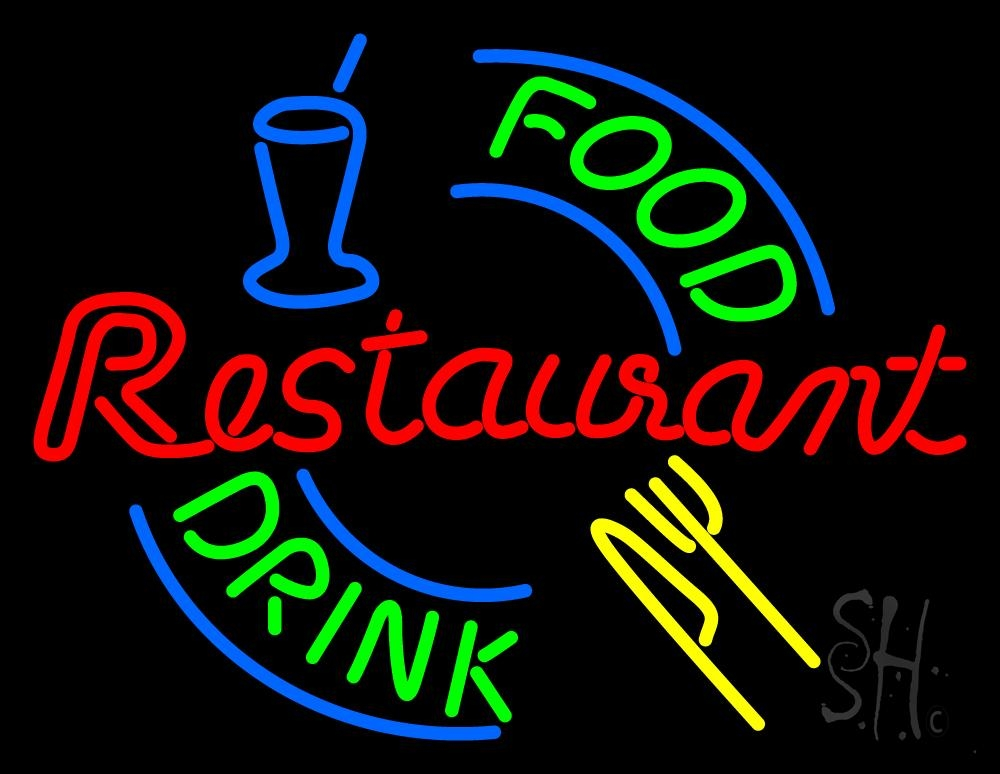 Fast Food Neon Signs
