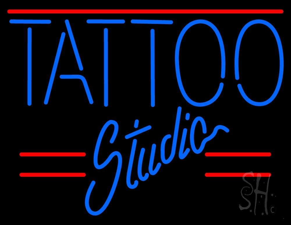 tattoo studio neon sign tattoo neon signs every thing neon