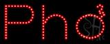 Pho LED Sign