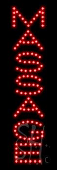 Massage LED Sign