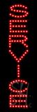 Service LED Sign