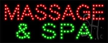 Massage And Spa LED Sign