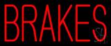 Brakes Neon Sign