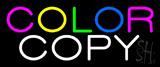 Multi Colored Color Copy Neon Sign