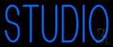 Blue Studio Neon Sign