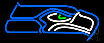 Seattle Seahawks NFL Neon Sign
