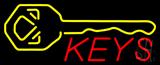 Keys Logo Neon Sign