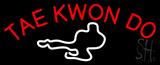 Tae Kwon Do Logo Neon Sign